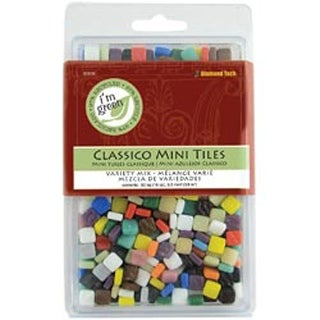 "Classico Mini Tile Mix 5/16"" 16Oz/Pkg-Assorted Colors"