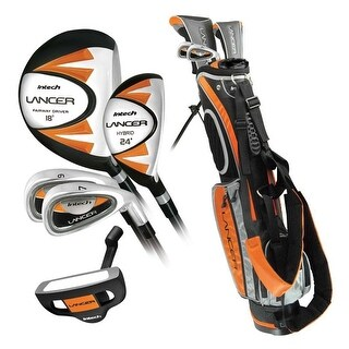 Intech Lancer Junior Golf Club Set (RH Orange Ages 8-12)