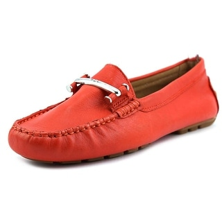 Lauren Ralph Lauren Caliana Round Toe Leather Loafer