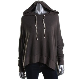 Project Social T Womens Oversixed Hi-Low Hoodie - M