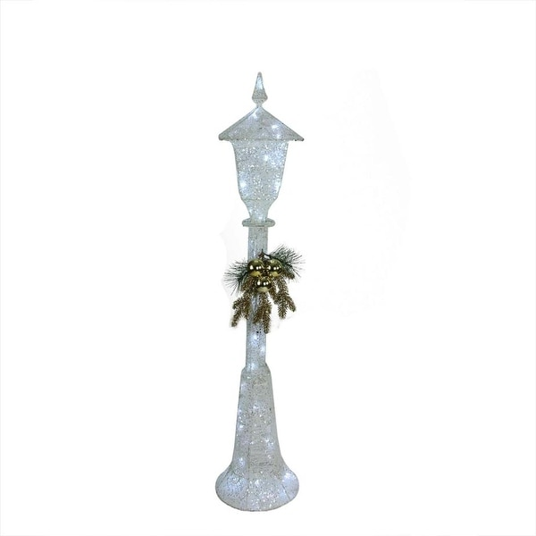 """48"""" LED Lighted Indoor/Outdoor Lamppost Christmas Decoration"""