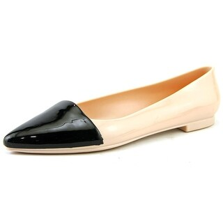 Cape Robbin Belita Women Pointed Toe Synthetic Nude Flats