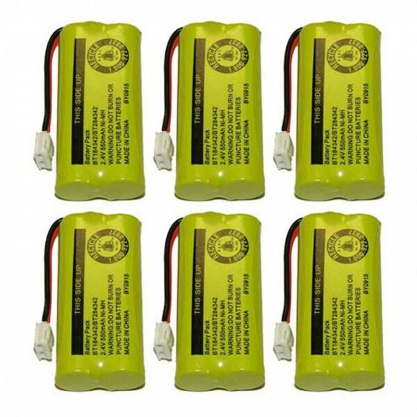 Replacement VTech 6010 Battery for 89-1326-00-00 / CPH-515D Battery Models (6 Pack)