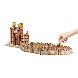3D Game of Thrones Puzzles - King's Landing - MultiColor