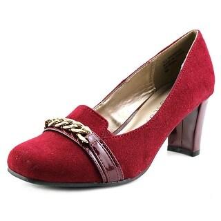 Karen Scott Penni Square Toe Synthetic Heels