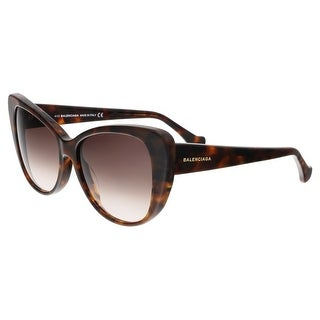 Balenciaga BA0016 55F Brown Square Sunglasses