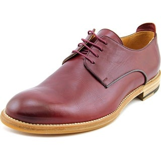 Justin Deakin King James   Round Toe Leather  Oxford