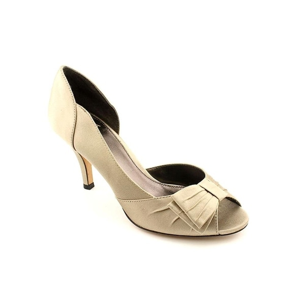Isola Womens Dolce Leather Peep Toe D-orsay Pumps - 8.5