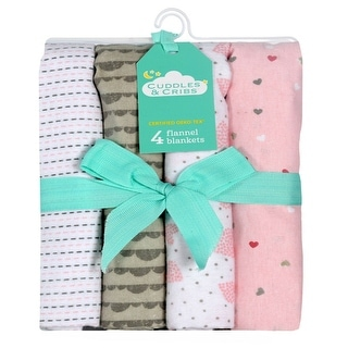 Link to Cuddles & Cribs 4 Pack Cotton Flannel Receiving Blankets - 30 by 30 inch Similar Items in Grills & Outdoor Cooking