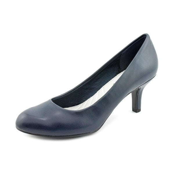 Easy Street Passion Round Toe Synthetic Heels