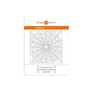 Orange Dot Quilts Print Foundation Paper Arabesque