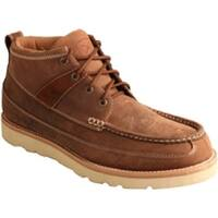Twisted X Boots Men's MCAS001 Steel Toe Boot Oiled Saddle Leather