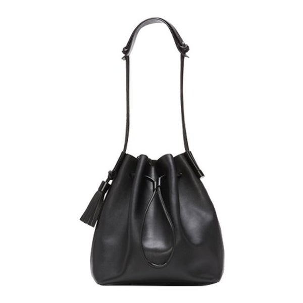 Shop Vince Camuto Women s Lorin Drawstring Bag Black - US Women s One Size  (Size None) - Free Shipping Today - Overstock.com - 11918837 9745dc548e