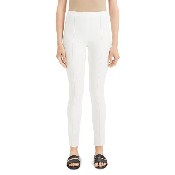 Theory Womens Leggings Pintuck Double Stretch