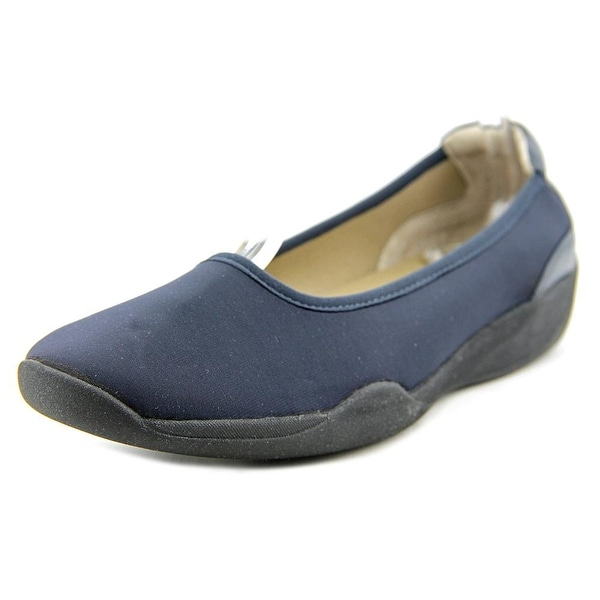 Stretchies Joyce Round Toe Synthetic Flats