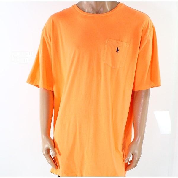 51d2e948e21 Shop Polo Ralph Lauren NEW Beach Melon Orange Mens Size XLT Logo Tee T-Shirt  - Free Shipping On Orders Over  45 - Overstock - 19515094