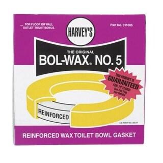 "Harvey 011005 Bol-Wax Toilet Bowl Gasket, 5/16"" x 2-1/4"""