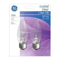 G.E. Lighting 76384 25 Watt Decorative Incandescent Bulb - pack of 4