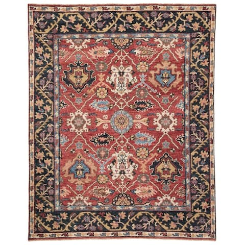 Tilney Hand-Knotted Medallion Area Rug