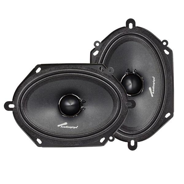 """Audiopipe 6X8"""" Mid Range Loud Speaker (Sold in pairs)"""