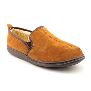 L.B. Evans 1804 Klondike Men Split-toe Suede Tan Slipper