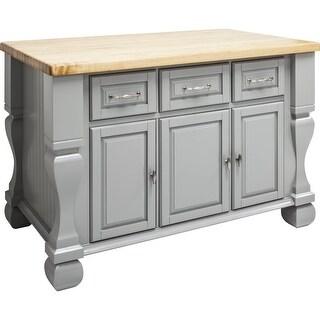 Jeffrey Alexander ISL01 Tuscan Collection 54 X 34 Inch Kitchen Storage  Island   N/A