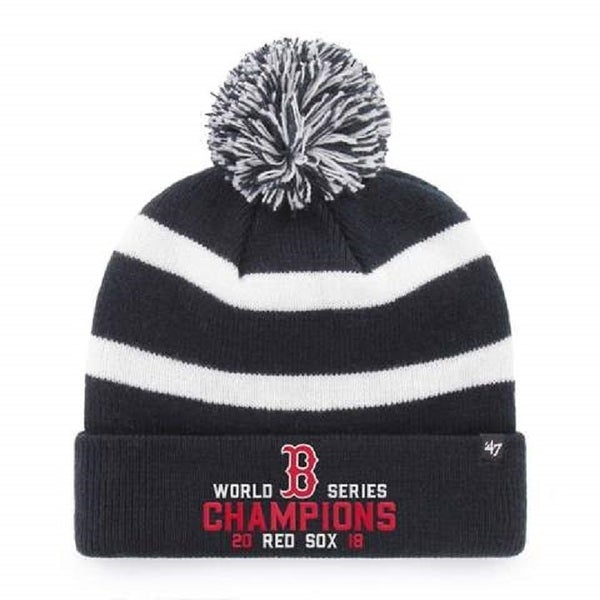 Shop Boston Red Sox 2018 World Series Champions 47 Brand Breakaway Knit Hat  - Free Shipping On Orders Over  45 - Overstock - 25035479 cc8e943c960d