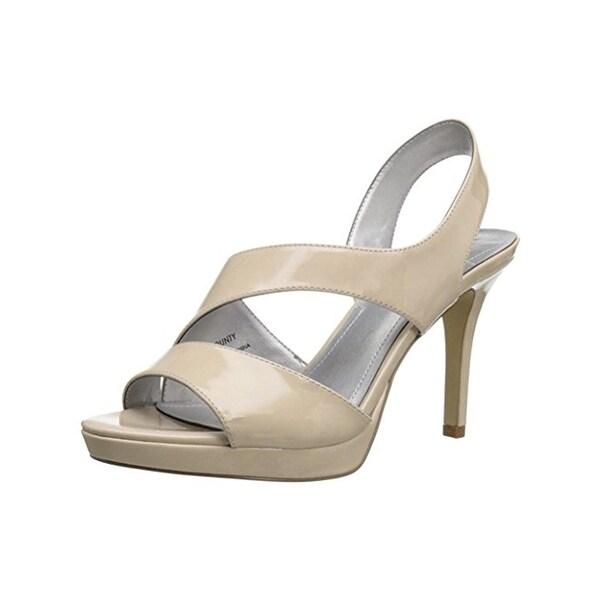 Tahari Womens Bounty Dress Heels Patent Open Toe - 9 medium (b,m)