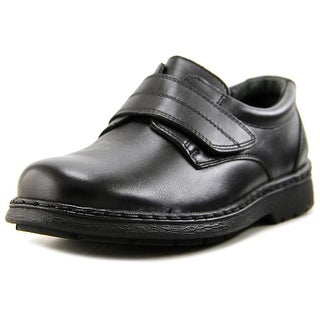 JJ School Vin Youth Round Toe Leather Loafer