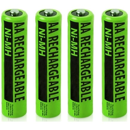 New Replacement Battery For AT&T 80-5461-00-00 Cordless Phone ( 4 Pack )