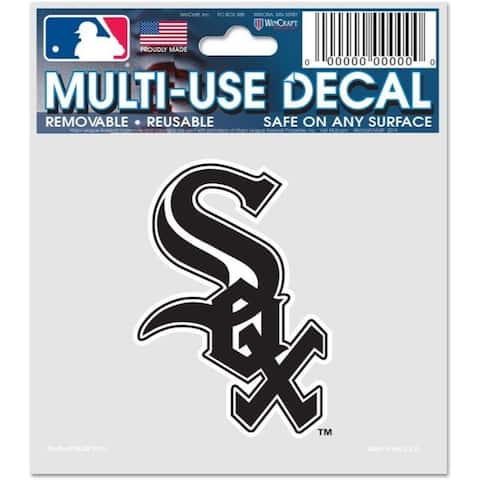 Chicago White Sox Decal 3x4 Multi Use