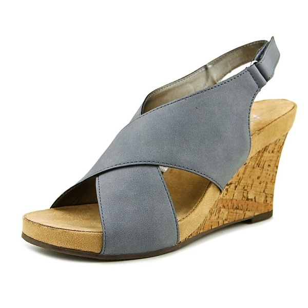Womens Sandals Aerosoles Cherry Plush Blue