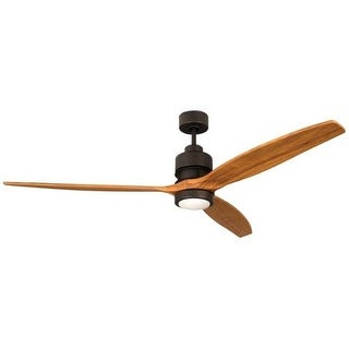 """Craftmade K11259 Sonnet 52"""" 3 Blade Indoor Ceiling Fan with Integrated LED Light Kit and Blades Included"""