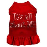 Rhinestone All About me Dress Red XXL (18)
