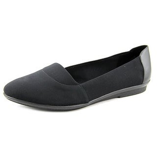 Easy Spirit e360 Karilla Round Toe Canvas Flats
