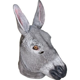 Adult Full Donkey Mask Animal Halloween Costumes - standard - one size