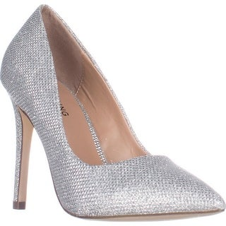 Call It Spring Agrirewiel Pointed Toe Dress Pumps, Silver