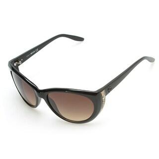 Just Cavalli Women's Cheetah Oversized Sunglasses Black - Small