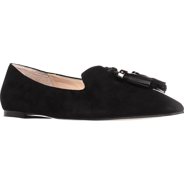 Ivanka Trump Lama Tassel Loafers, Black Multi