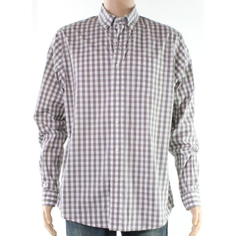 24b3f955046 Buy Grey Dress Shirts Online at Overstock   Our Best Shirts Deals