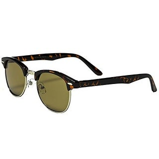 Mechaly Classic Sunglasses, Club Master Style, Tortoise