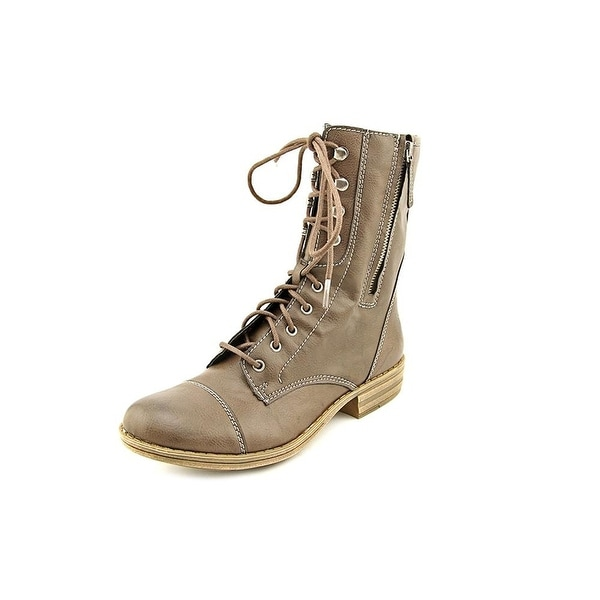 American Rag Womens Deputy Closed Toe Mid-Calf Combat Boots