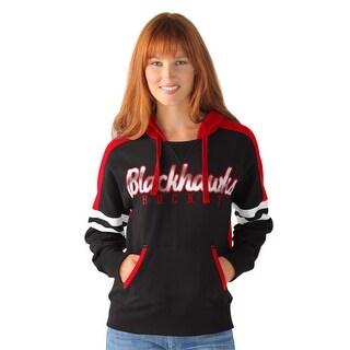 Chicago Blackhawks Backhand Women's Hoodie