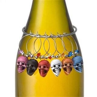 Prodyne W-7-S Skull Charams Stemware Set - Pack of 12