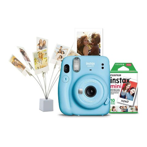 Fujifilm instax Mini 11 Holiday Bundle (Sky Blue)