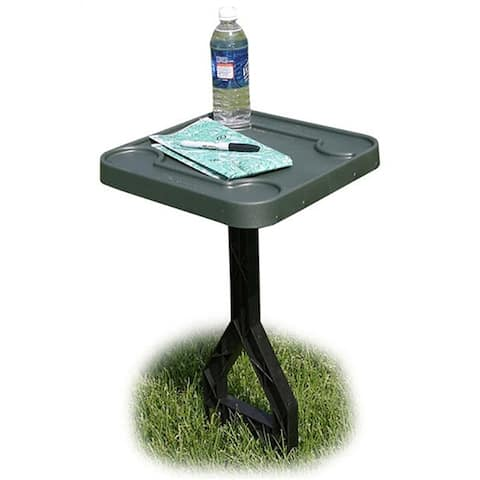 Mtm jm-1-11 mtm jammit personal outdoor table for cookouts barbeques sports forest green