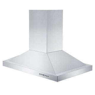 "Link to ZLINE 30"" Convertible Vent Island Mount Range Hood in Stainless Steel Similar Items in Large Appliances"