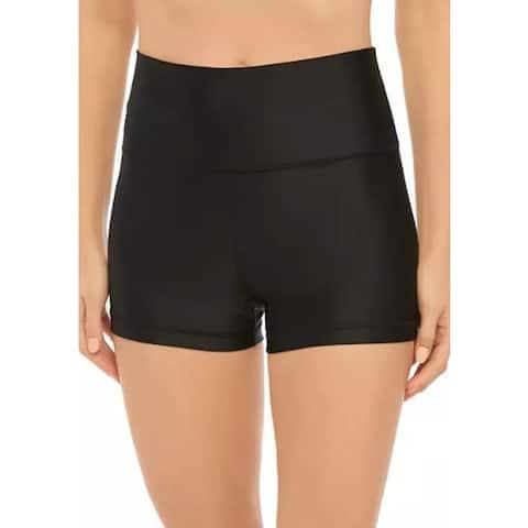 Calvin Klein Boy Short Swim Bottoms, Black, X-Small
