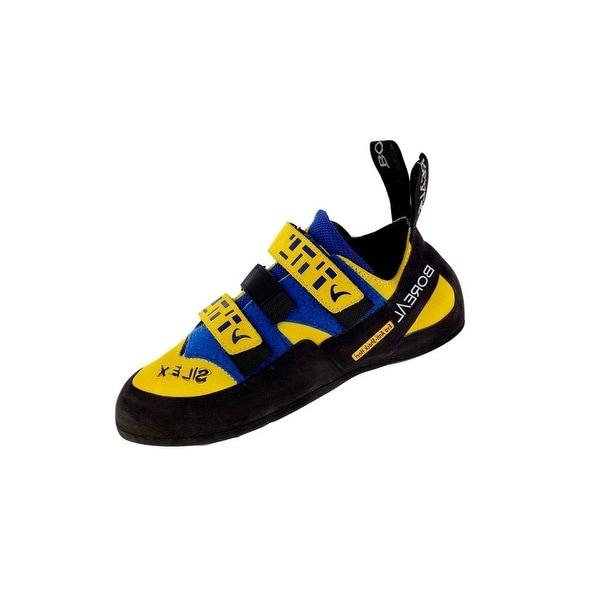 Boreal Climbing Shoes Mens Silex Athletic Black Yellow Blue