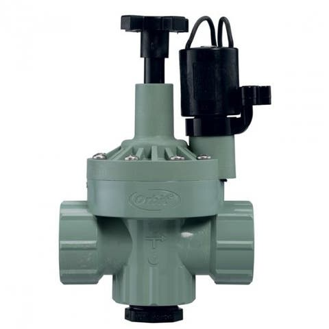 "Orbit 57020 Automatic Inline/Angle Valve with Flow Control, 1"" FNPT"